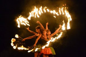 Pokaz fireshow - Teatr Ognia LOS FUEGOS
